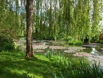 De tuin van Claude Monet `s Stock Afbeelding
