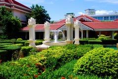 De Tuin van de binnenplaats Royalty-vrije Stock Afbeelding