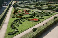 De tuin van de bloem, Kromeriz Royalty-vrije Stock Foto