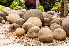 De tuin van de cirkelsteen Royalty-vrije Stock Foto