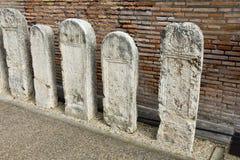 De Tuin van de Diocletian-Baden Stock Foto's