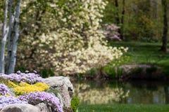 De Tuin van de lente royalty-vrije stock afbeeldingen