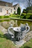 De tuin van de manor Royalty-vrije Stock Afbeelding