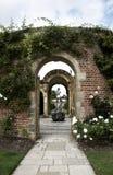 De tuin van de muur Stock Afbeelding