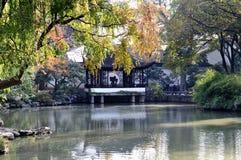 De tuin van de Suzhou bescheiden beheerder Stock Afbeeldingen