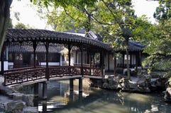 De tuin van de Suzhou bescheiden beheerder Stock Foto