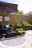 De tuin van de zitkamer Stock Afbeelding