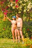 De tuin van Eden royalty-vrije stock afbeeldingen