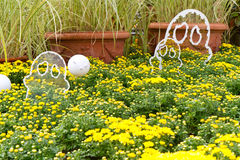 De tuin van Halloween Royalty-vrije Stock Afbeelding