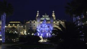 De tuin van het Casino van Kerstmis stock afbeelding