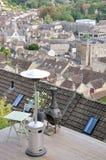 De Tuin van het dak Royalty-vrije Stock Foto's