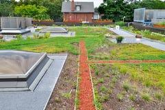 De tuin van het dak royalty-vrije stock afbeeldingen