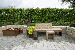 De tuin van het huis Royalty-vrije Stock Foto