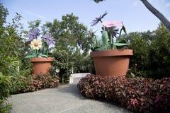 De tuin van het kinderenavontuur in Arboretum stock fotografie