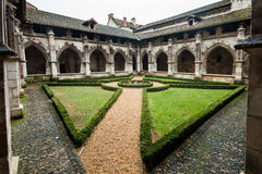 De tuin van het klooster Stock Foto