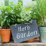 De tuin van het kruid Stock Fotografie