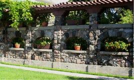 De tuin van het landgoed Stock Foto's