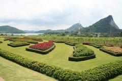 De tuin van het landschap in Thailand. Stock Foto