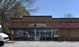 De Tuin van het Lucchesi'sbier, Memphis, TN stock foto