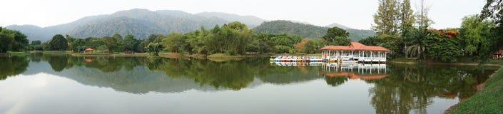 De Tuin van het Meer van Taiping, Maleisië Royalty-vrije Stock Afbeelding