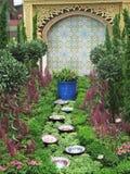 De tuin van het Midden-Oosten Royalty-vrije Stock Afbeeldingen