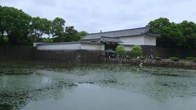 De Tuin van het oosten van Keizerpaleispark in Tokyo - TOKYO/JAPAN - JUNI 17, 2018 stock videobeelden
