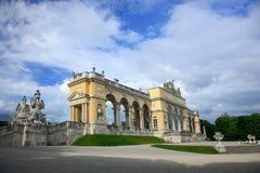 De Tuin van het Paleis van Schonbrunn, Wenen Royalty-vrije Stock Afbeeldingen