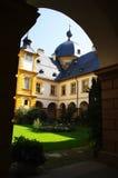 De tuin van het Paleis van Seehoff Stock Afbeelding