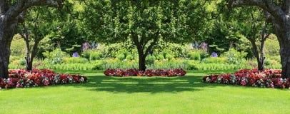 De tuin van het park Stock Afbeelding