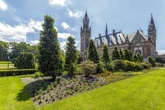 De tuin van het Vredespaleis Royalty-vrije Stock Fotografie