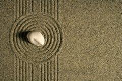 De tuin van het zand Stock Fotografie