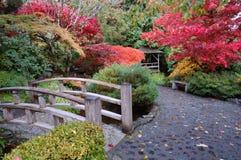 De tuin van Janpanese Stock Foto