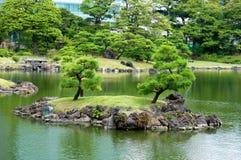 De tuin van Japan Stock Foto's