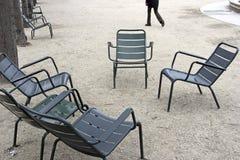De tuin van Luxxembourg in Parijs Stock Foto's