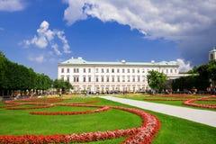 De tuin van Mirabell, Salzburg Royalty-vrije Stock Foto