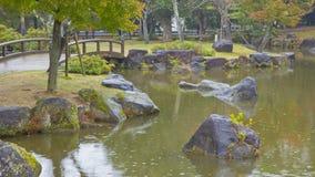 De tuin van Nara Royalty-vrije Stock Fotografie
