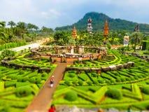 De Tuin van Nooch van Nong Royalty-vrije Stock Afbeeldingen