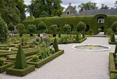 De tuin van Queenâs in Loo van Paleis Het stock foto's