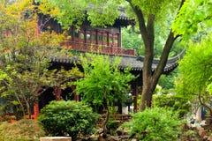 De Tuin van Shanghai Yu in de zomer royalty-vrije stock foto's