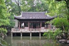 De tuin van Shanghai Yuyuan, historische tradicional Chinese Tuin in Shanghai, China royalty-vrije stock afbeelding