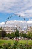 De Tuin van Tuileries, Parijs Stock Foto's