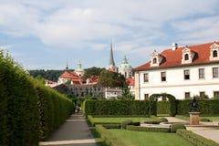 De tuin van Wallenstein (zahrada Vald?tejnská) Royalty-vrije Stock Fotografie