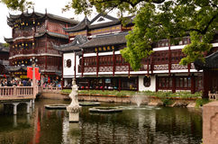 De Tuin van Yuyuan in Shanghai Royalty-vrije Stock Afbeelding