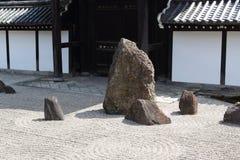 De tuin van Zen in Kyoto Royalty-vrije Stock Foto's