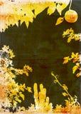 De tuinachtergrond van Grunge Stock Afbeelding