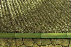 De tuinachtergrond van Zen Stock Afbeelding