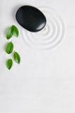 De tuinachtergrond van Zen Stock Afbeeldingen