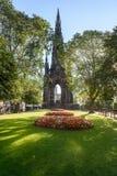 De Tuinen Edinburgh, Schotland, het UK van de prinsenstraat royalty-vrije stock afbeelding