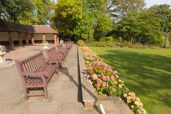 De tuinen Sidmouth Devon England het UK van Connaught royalty-vrije stock afbeeldingen