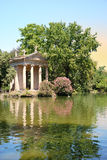 De tuinen van Borghese van de villa Royalty-vrije Stock Foto's